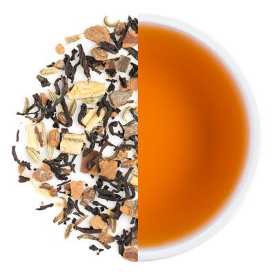 Cinnamon Pop Dry Tea Leaves & Liquor