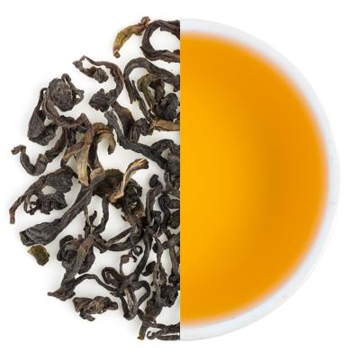 Goomtee Special Spring Oolong Dry Tea Leaves & Liquor