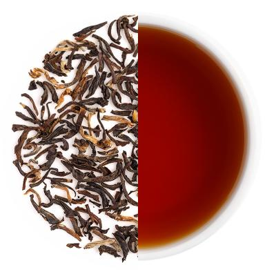 Doomni Special Spring Black Dry Tea Leaves & Liquor