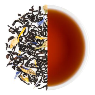 Black Opal Dry Tea Leaves & Liquor