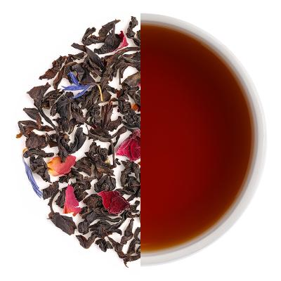 Mountain Rose Dry Tea Leaves & Liquor