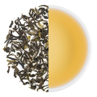 Green Earl Grey Dry Tea Leaves & Liquor