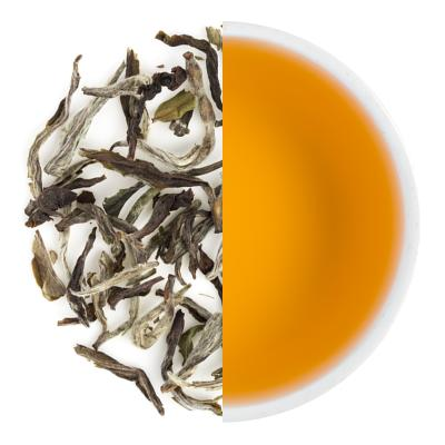 Mai-Ilam Special Spring White Dry Tea Leaves & Liquor