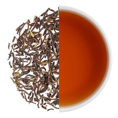 Nilgiri Frost Winter Black Dry Tea Leaves & Liquor