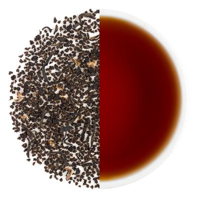 Imperial Black Dry Tea Leaves & Liquor