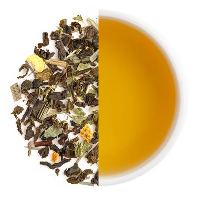 Citrus Splash Iced Tea Dry Tea Leaves & Liquor