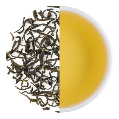 Pascoe's Woodlands Special Winter Nilgiri Frost Green Dry Tea Leaves & Liquor