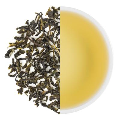 Selim Hill Classic Spring Green Dry Tea Leaves & Liquor