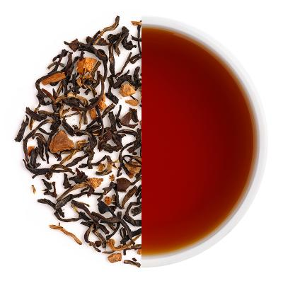 Kopi Chia Iced Tea Dry Tea Leaves & Liquor