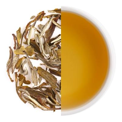 Ivory Blossom Dry Tea Leaves & Liquor