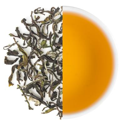 Jungpana Classic Spring Black Dry Tea Leaves & Liquor