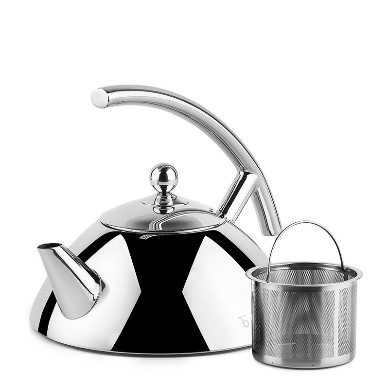 Bevel Stainless Steel Kettle